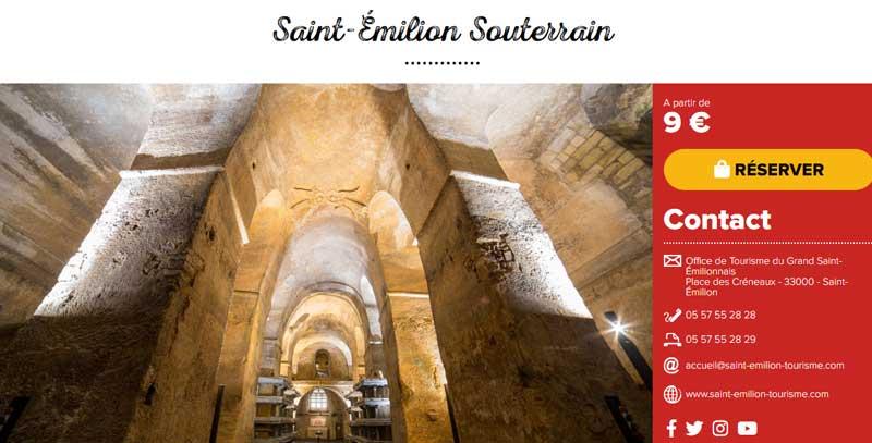chambre d'hôtes saint Emilion